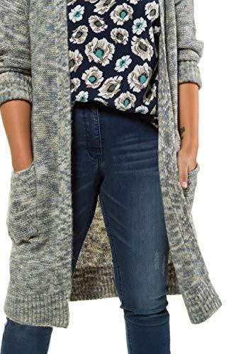 Mélangée Grandes Multicolore Untold Maille Légère 721260 Femme Studio Longue Tailles Cardigan En 8PTPdwE