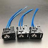 Aokus 3pcs NEW connector plug For Toyota Supra