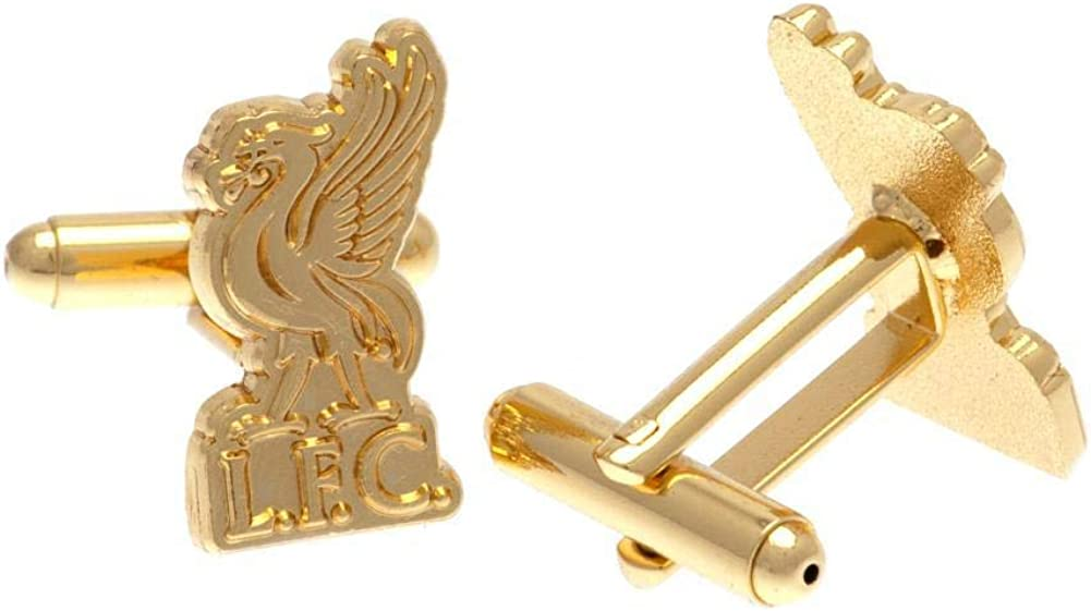 Gold Plated Cufflinks Liverpool F.C CHAMPIONS OF EUROPE