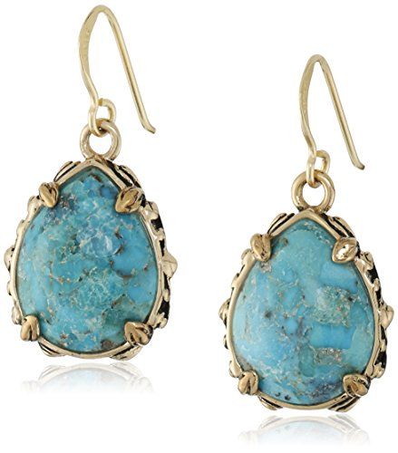 Barse Jubilee Teardrop Bronze and Turquoise ()
