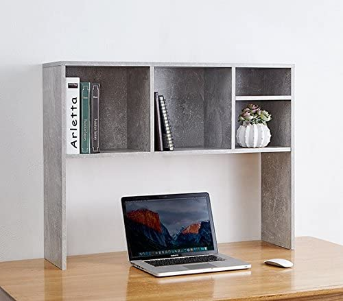DormCo The College Cube – Desk Bookshelf – Marble Gray