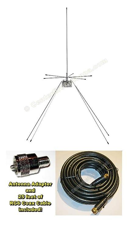 Centerfire Antenna Deluxe Discone