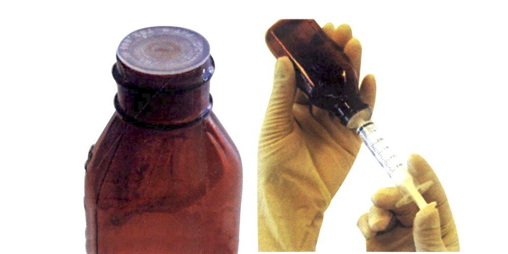Stay Safe (TM) Self Sealing Bottle Closures by JorVet