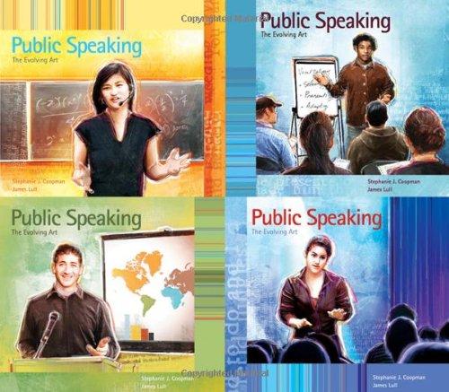 Public Speaking: The Evolving Art (with Enhanced eBook, Resource Center, Interactive Video Activities, SpeechBuilder, We