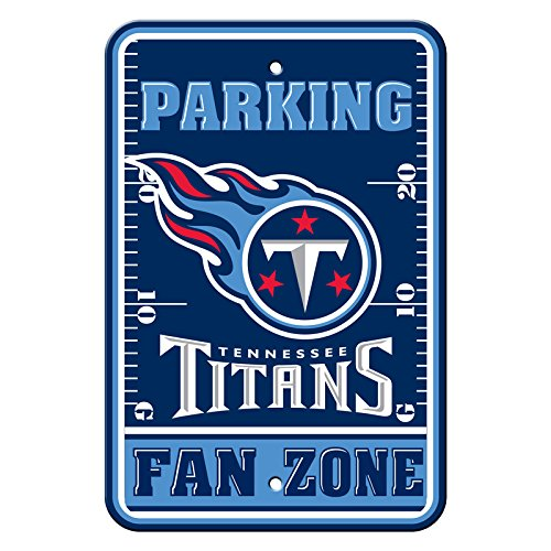 (Fremont Die Official National Football League Fan Shop Authentic NFL Parking Sign (Tennessee Titans) )