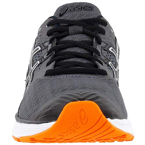 ASICS Gel1 Shoe Mens Running 11.5 Dark Grey-Black-Orange