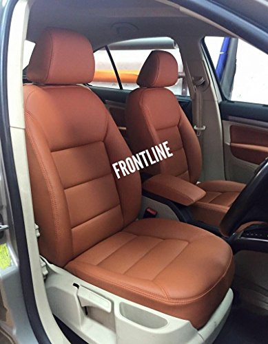 3D FRONTLINE PU Leather Car Seat Cover For Renault Duster Amazonin Motorbike