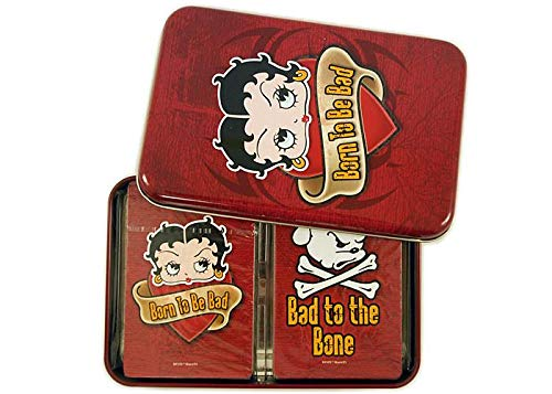 Betty Boop Born to be Bad 2 Deck Playing Cards Set Betty Boop Playing Cards