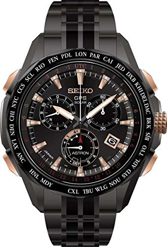 Seiko Mens ASTRON GPS Limited Edition Solar Chronograph, SSE019