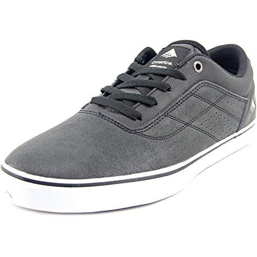 Emerica De Herman G6 Vulc Maat 11.5 Zwart / Wit / Gum Skate Schoenen