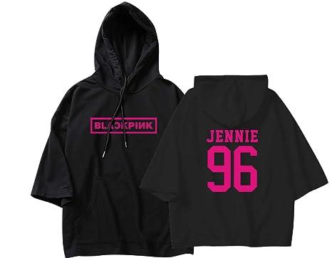 3af52c31 Kpop Blackpink Concert T-shirt Jisoo Jennie Lisa Rose Shirt Tee M Black  Jennie