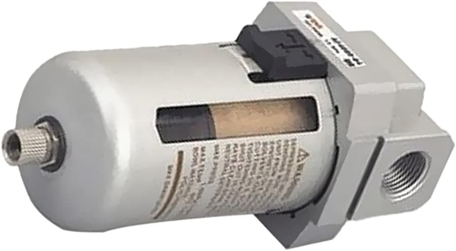 Set de Filtro De Aire Particulado Compresor Agua Purificador De Trampa De Humedad Herramientas/Aleación de aluminio ...