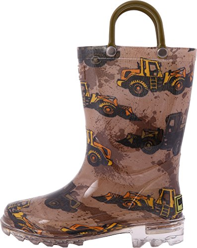 Pictures of Western Chief Kids Mens Busy Bulldozer Lighted 3