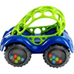 Oball Rattle & Roll Car (colours may...