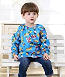 Children's Waterproof Bib Smock Pullover Sleeved