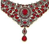 Heidi Daus SWAROVSKI Crystal Beaded 2-Strand Crystal Drop Necklace ~ Worth Waiting For-Siam Red