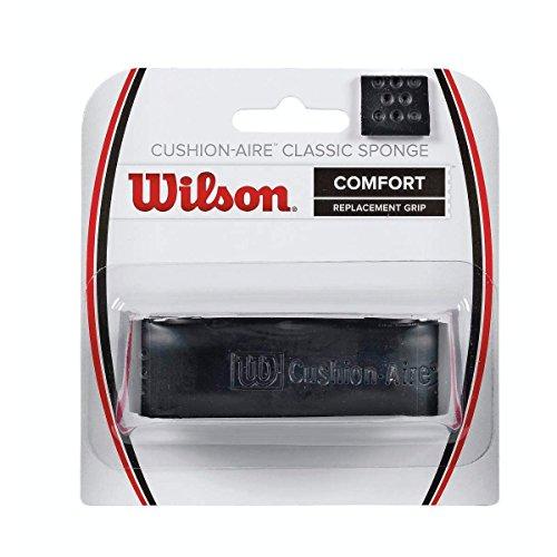 Wilson Classic Sponge Tennis Racquet Replacement Grip, Black