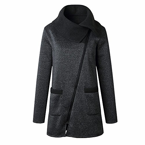 Long Manteau Couleur Pure Shirt Wolfleague Hiver Sweat Femme Chaud xIw1nqCgf