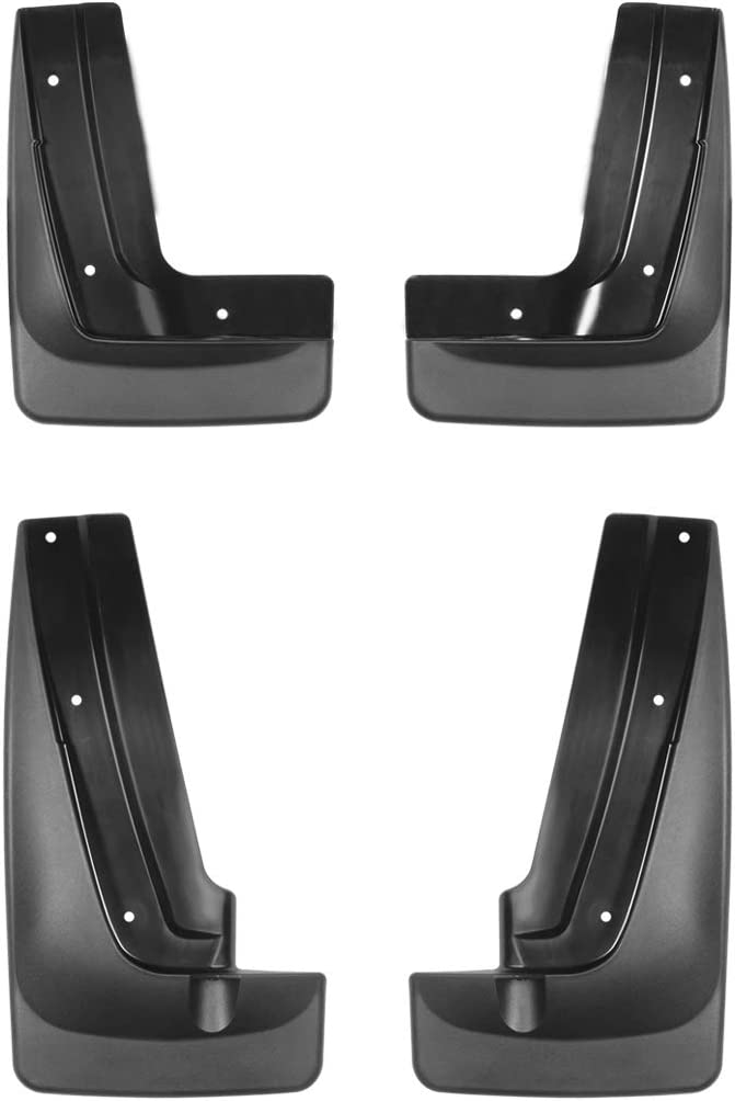 Set of 2 WeatherTech Rear Mud Flap for Select Chevrolet Models