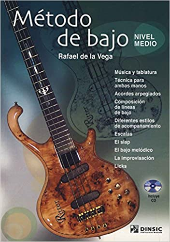 DE LA VEGA - Metodo para Bajo Electrico (Nivel Medio) (Inc.CD): DE LA VEGA: 9790692104063: Amazon.com: Books