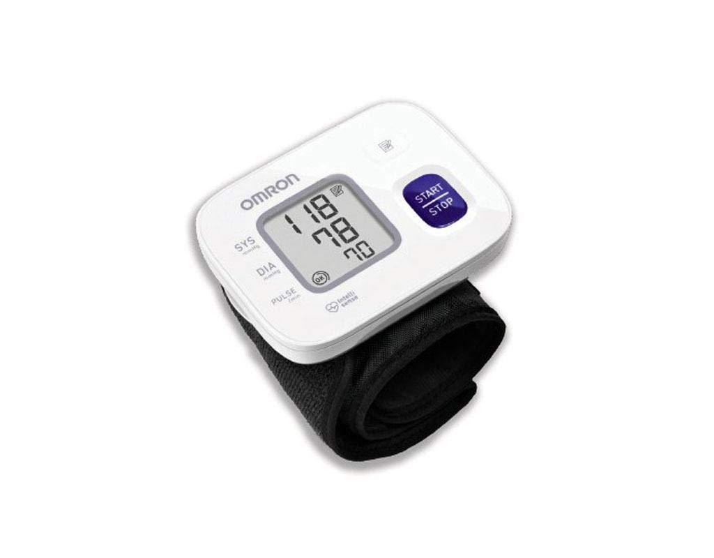 OMRON RS2INTELLISENSE - Monitor de Presión Arterial Automático de Muñeca: Amazon.es: Salud y cuidado personal