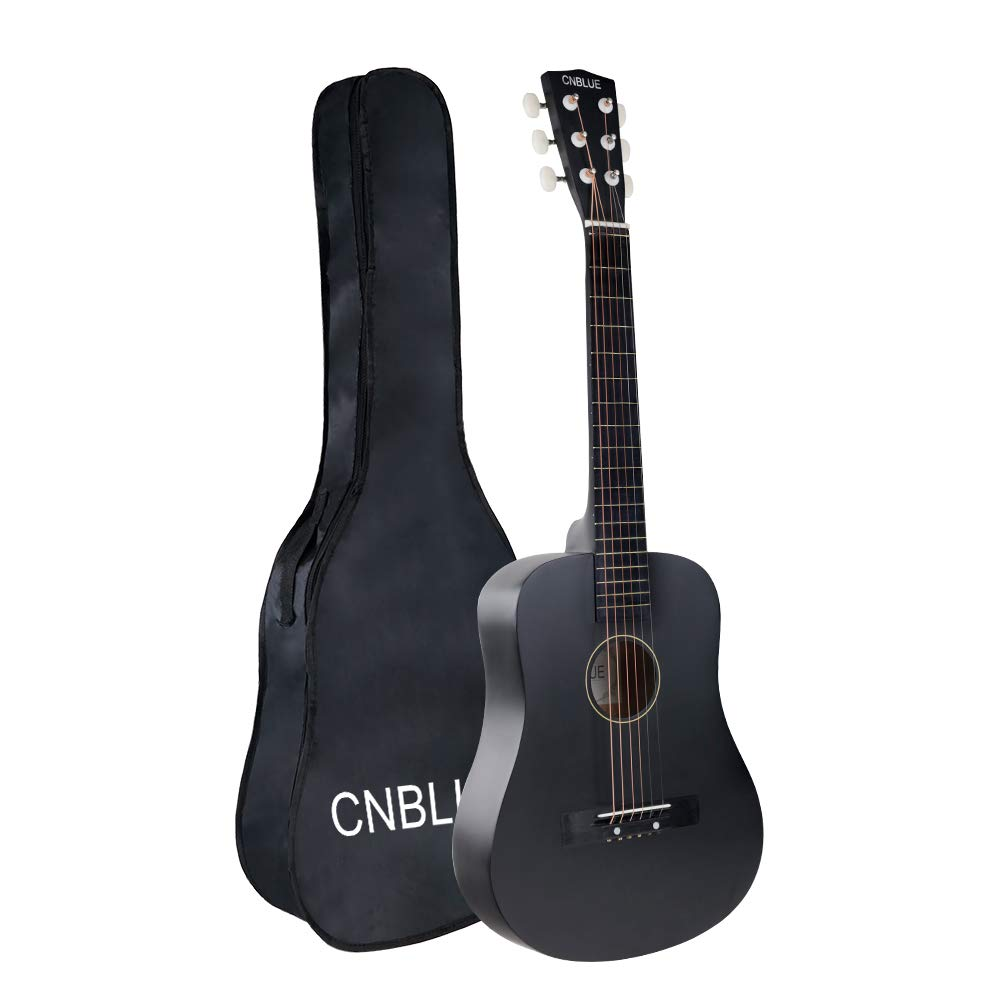 Acoustic Guitar Kid Beginner Child Guitar 30 Inch 1/2 Half Size Steel Strings Small Guitar for Students Boy Girl Guitar