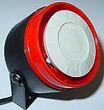 Uniproduct Sirène piézoélectrique étanche - mini sirène pour voiture, moto, bateau, 12V, 122 dB AS