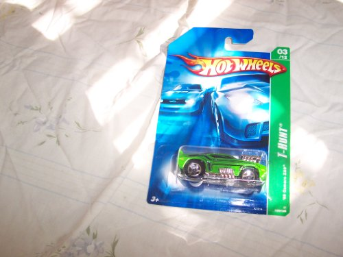 Mattel Hot Wheels 2007 Treasure Hunt 1:64 Scale Green 1969 Chevy Camaro Z28 Die Cast Car ()