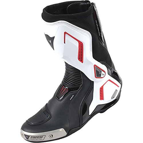 White Motorbike Boots - 3