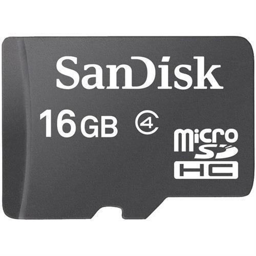 SanDisk COMINU024966 16GB microSD Card