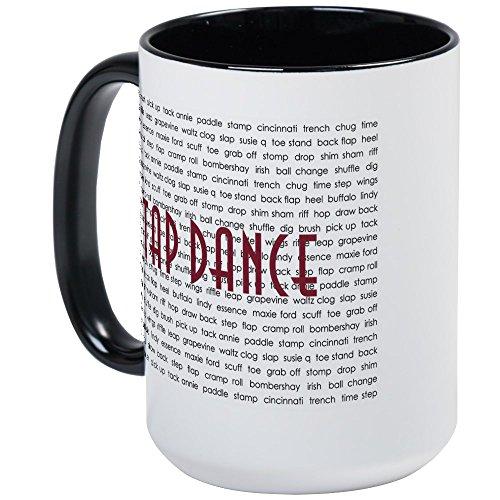 Dance Mug Large (CafePress - Tap Dance Large Mug - Coffee Mug, Large 15 oz. White Coffee Cup)