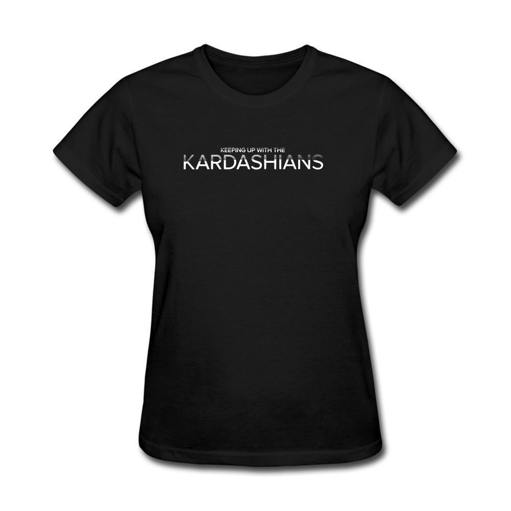 ZHENGXING Women's Keeping Up With The Kardashians Logo Short Sleeve T-Shirt XXL ColorName