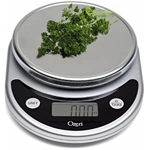 Ozeri ZK14-S Pronto Digital Multifunction Kitchen and Food Scale, Black 51RcCqW6n8L