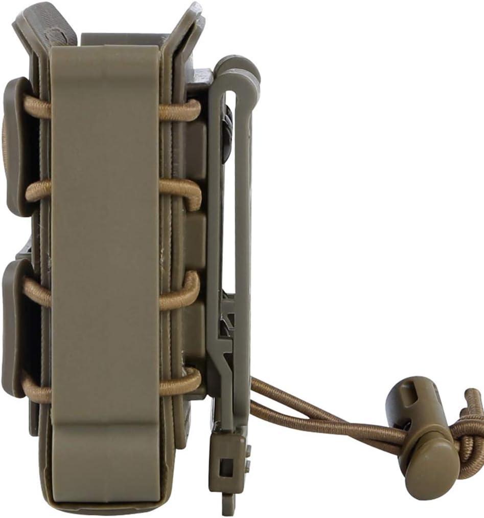TONGJI Porte Chargeur Molle 3 Pi/èce Mag Pouch Tactique Magazine Fast Mag Magazine Holster Carrier pour AWM//M24 Mag