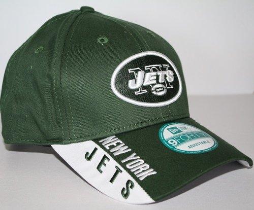 NFL New York Jets Text Visor, Green, OSFA by New Era