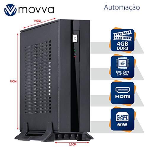 MINI COMPUTADOR LITE INTEL DUAL CORE J1800 2.41GHZ MEMÓRIA 4GB SEM HD HDMI/VGA FONTE EXTERNA 60W - MOVVA