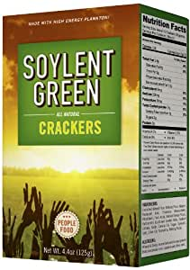 Amazon Com Soylent Green Crackers 4 4 Ounce Pack Of 3