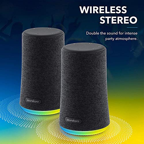 Soundcore flare mini alto-falante Bluetooth, alto-falante Bluetooth ao ar livre, IPX7 à prova d'água para festas ao ar…