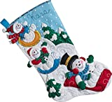 Bucilla 86713 Snowday Funday Stocking Kit
