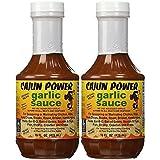 Cajun Power Garlic Sauce Original Recipe, 16 Oz (Pack of 2)