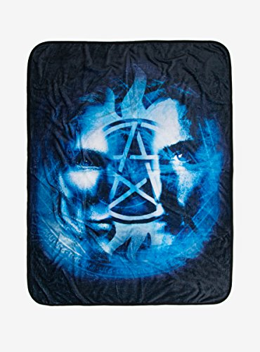 Supernatural Brothers Anti-Possession Throw Blanket
