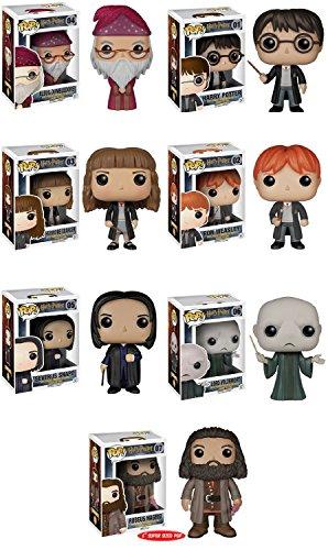 Funko Pops! Complete Set of 7 ~ Harry Potter Voldemort Albus