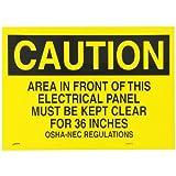 Brady SV404N Prinzing Notice Do Not bLock Door (1 Each)