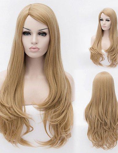 Ahom pelucas moda de la manera chica de moda peluca de cabello natural de alambre de