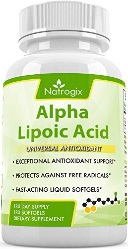 Alpha Lipoic Acid 300mg - 180 Softgels - - Thorne R Lipoic