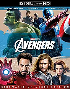 Cover Image for 'Avengers, The [4K Ultra HD + Blu-ray + Digital]'