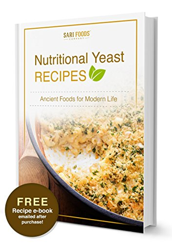 Pure Natural Non Fortified Nutritional Yeast Flakes 8 Oz