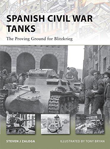 Spanish Civil War Tanks: The Proving Ground for Blitzkrieg (New Vanguard) (Best Civil War Board Games)