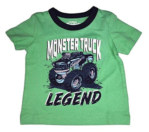OshKosh B'Gosh Baby Boys' Graphic Tee, Monster Truck Legend, 6 ()