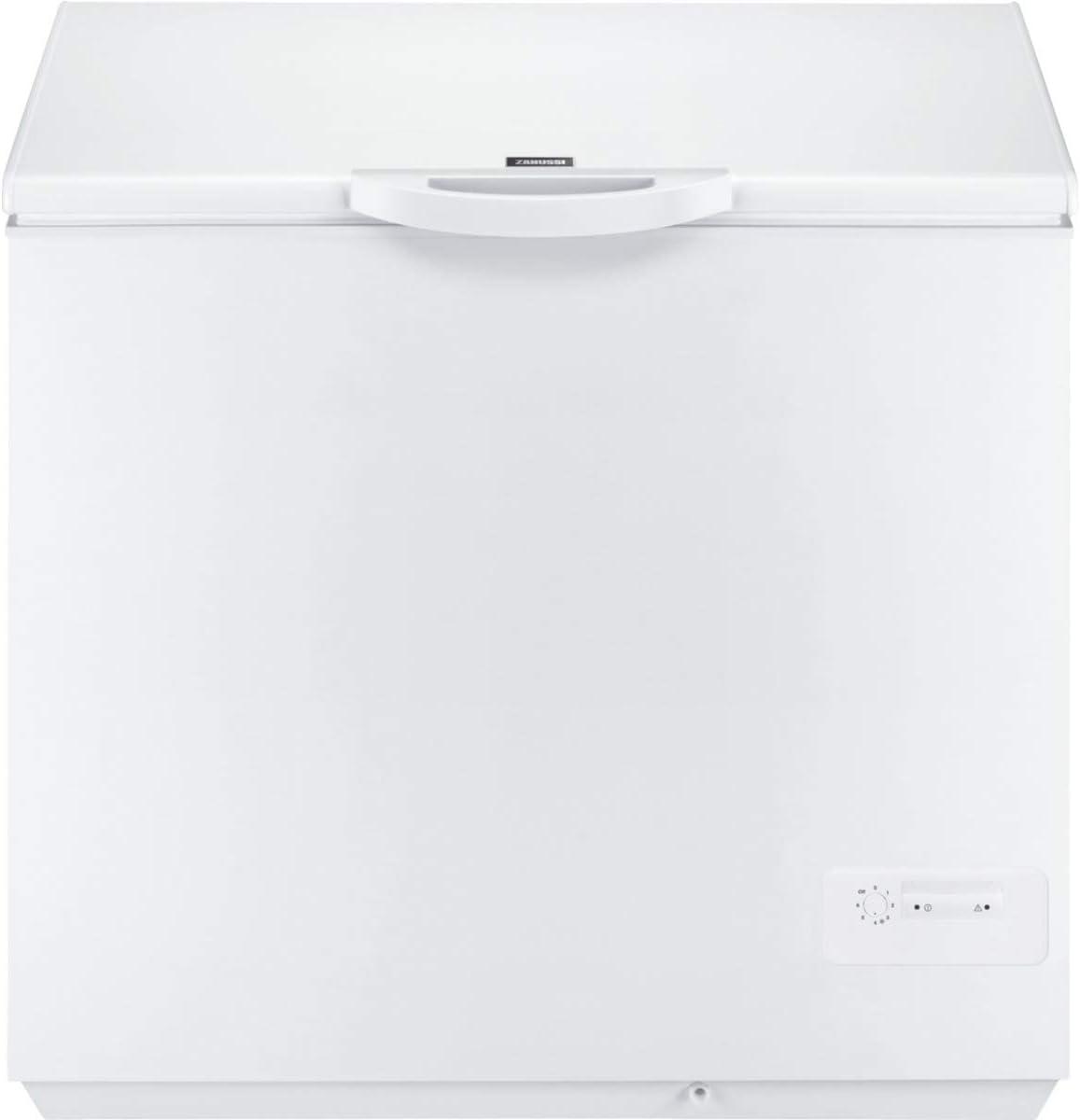 Zanussi ZFC21400WA Arcón congelador, 210 litros, 42 Decibelios ...